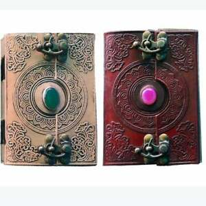 Set of 100 Lovely Single Stone Leather Journal in Bulk For Gifting Reselling