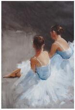 "BALLERINA Dance with Me  CANVAS PRINT : 24""x36"" BALLET GIRL ART WALL POSTER"
