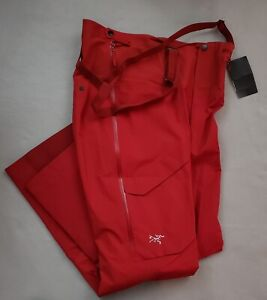 Arc'teryx Rush LT Pant Gore-Tex Waterproof Ski/Boarding (Red Beach)- Medium- New