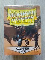 Dragon Shield Standard Size Card Sleeves 100ct - Copper Matte
