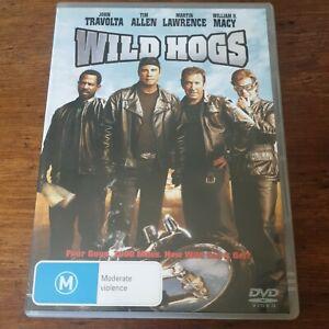 Wild Hogs DVD R4 Like New! FREE POST
