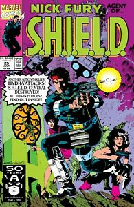Nick Fury Agent of Shield #25 Marvel First Print