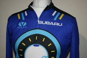 Voler - Subaru - Iceman - Half Zipper Cycling Jersey Shirt - XL - Vintage Top