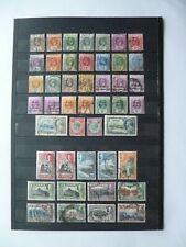 CEYLON :- 1912 - 1935 : Mint & Used selection.