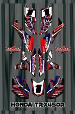 TRX 450R graphics Honda 450 ATV sticker kit FREE Semi Custom Service SE3
