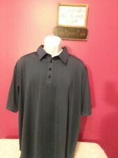 Adidas Climalite Short Sleeve Navy Blue Golf Polo Shirt Mens Xl Tpc Excellent E1