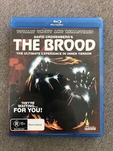 Blu Ray Disc - CRONENBERG - THE BROOD Uncut & Remastered - Region B