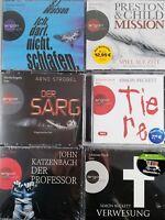 31 CDs -6 Hörbücher Beckett Watson Krimi NEU Thriller Paket Hörbuch Sammlung OVP