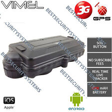 3G GPS Tracker 5000mA Real live Time Tracking Device Vehicle Car Yacht Caravan