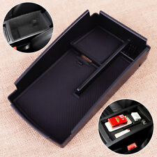 Inner Armrest Secondary Storage Box Pallet Coin Tray Fit For VW Passat B6 B7 CC