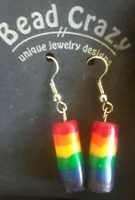 LGBT Rainbow Gay PRIDE Dangle/Drop Earrings