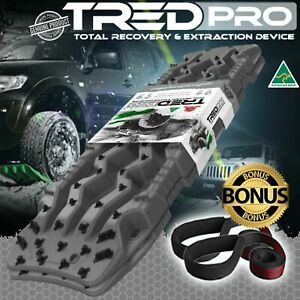 TRED PRO - RECOVERY TREDPROGG 1160MM GUN GREY 4X4 4WD MUDTRAX TREDS - PRO SERIES