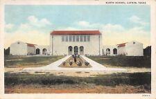 Lufkin Texas~Kurth Ward School~Raguet Street~Independent District~1938 Postcard