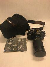 A-1 CANON camera booklet Tokina AT-X 35-200mm lens filter Tarmac Case