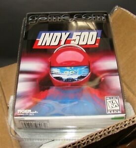 Brand New INDY 500 Factory Sealed for Tiger GAME.COM