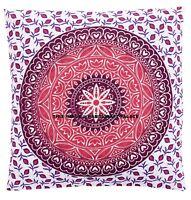 Indien Bohème Ombre Mandala Design Oreiller Jeté Étui Canapé Coussin Étui Housse