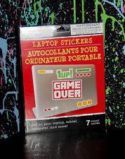 RETRO VIDEO GAME STICKERS laptop sticker zelda heart super mario coin 1 Sheet