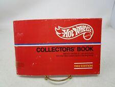 Vintage Hot Wheels  *1982 COLLECTORS' BOOK*