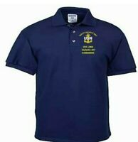 USS LING  SS/AGSS-297  SUBMARINE EMBROIDERED LIGHTWEIGHT POLO SHIRT