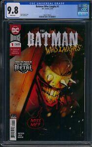 Batman Who Laughs 1 CGC 9.8