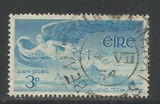 Ireland 1948-65 Angel 3p blue Airmail--Attractive Topical (C2) fine used