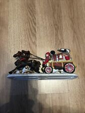 Dickensville Collectible Christmas Village Horse and Carriage Driver