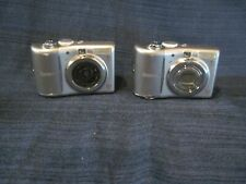 Canon Power Shot A 1100IS Lot of 2 Cameras for Parts or Repair