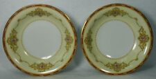 """NORITAKE china 1802 Nippon Toki Kaisha Soup or Salad Bowl Set of Two (2) 7-3/8"""""""