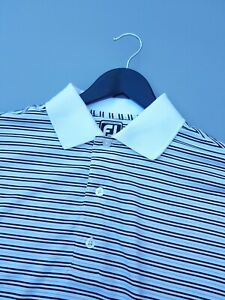 FOOTJOY ATHLETIC FIT GOLF POLO SHIRT MEDIUM EXCELLENT CONDITION!