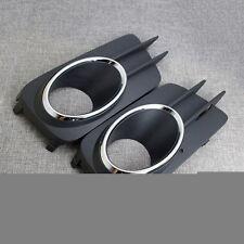 2 x Nebelscheinwerfer Lampe Abdeckung Chrome links rechts für VW 10-13 Tiguan