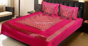 Indian Handmade Black Bedspreads Elephant Polydupion Blanket Bedding Throw
