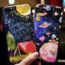 3D Emboss Fairy Tale Starry Sky Galaxy Soft Silicone Phone Case Cover For iPhone