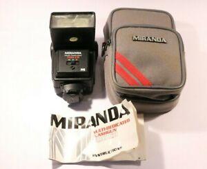 MIRANDA MULTI-DEDICATED 700 CD & 3 COLORED FILTERS & WIDE ANGLE ADAPTOR