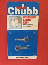 Chubb / Yale Window Lock Key 8K109/K