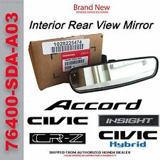 Genuine OEM Honda Interior Rear View Mirror   (76400-SDA-A03)