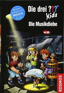 KOSMOS - DIE DREI ??? KIDS - DIE MUSIKDIEBE - Band 77 - Buch # NEU