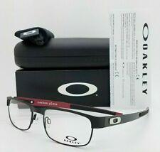Oakley Gafas de la placa de carbono OX5079-0153 marco negro mate con lentes de demostración de RX