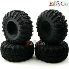 """4pcs New RC 1/10 Crawler Soft 2.2"""" Tires Tyres w/ Foam for RC4WD Axial Upgrade"""