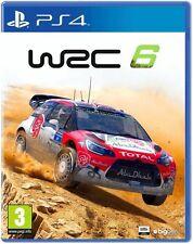 WRC 6: FIA World Rally Championship [PlayStation 4 PS4, Region Free, 2016] NEW