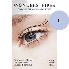 Augenlid-Lifting - Wonderstripes - Größe L (groß) - 60 Stück