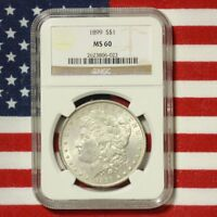 1899 Morgan Dollar NGC MS60 ***Rev Tye's Coin Stache*** #6022250