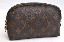Authentic Louis Vuitton Monogram Pochette Cosmetic Pouch M47515 LV 99468