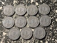 1945-C France 1 Franc (13 Available) Circulated (1 Coin Only)