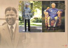"""SOUTH AFRICA NELSON MANDELA """"HAPPY 90TH BIRTHDAY, MADIBA FIRST DAY COVER"""