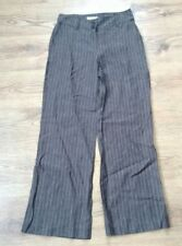 Linen Mid Rise 34L Trousers Size Tall for Women