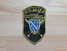 BOSNIA ARMY - unifoform patch used in war in Bosnia  1991-1995