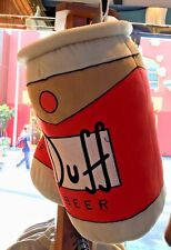 """Universal Studios Exclusive The Simpsons 18"""" Duff Beer Can Pillow Plush New"""