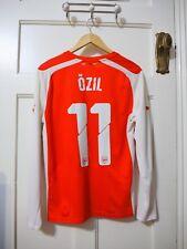 "Arsenal Puma Home L/S Shirt Small 2014-2015 - ""OZIL 11"""
