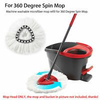 1x Replacement Heads Easy Cleaning Mopping Wring Refill Mop for O-Cedar Spin Mop