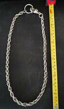Huge Sterling Silver Chain, 114.4 grams 925 Sterling, NOT SCRAP!  Wearable